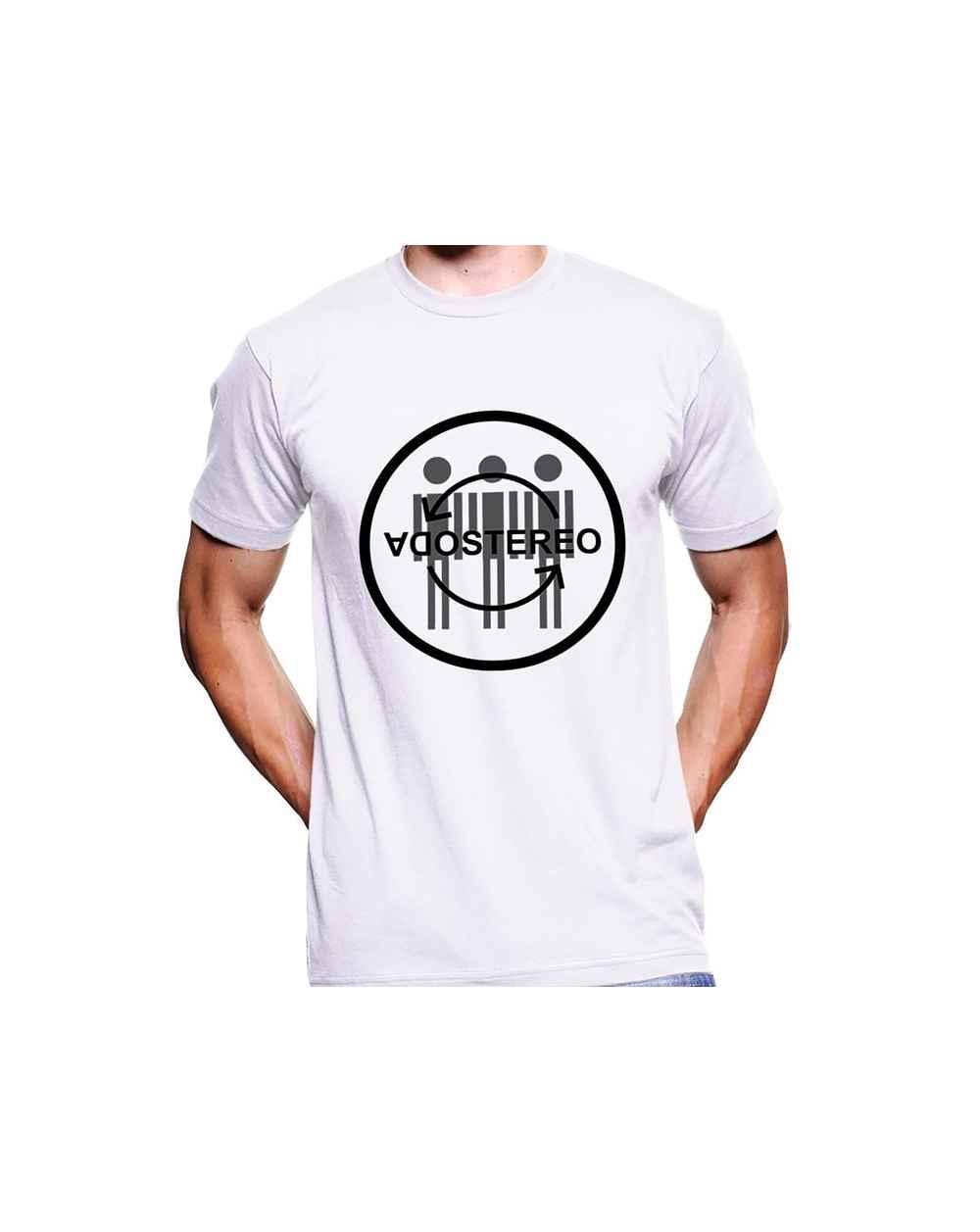 Camiseta Estampada Hombre Soda Stereo 04