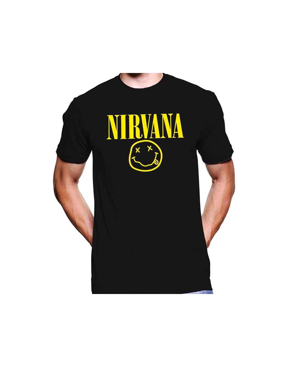 Camiseta Estampada Hombre Nirvana 02