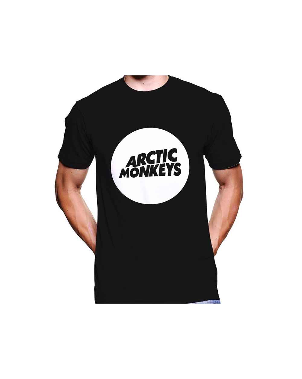 Camiseta Estampada Hombre Arctic Monkeys Logo 02