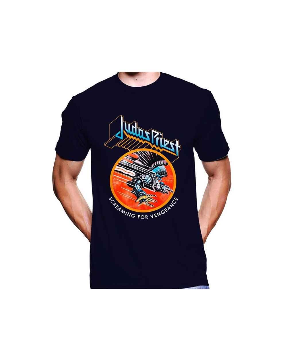 Camiseta Estampada Hombre Judas Priest 02