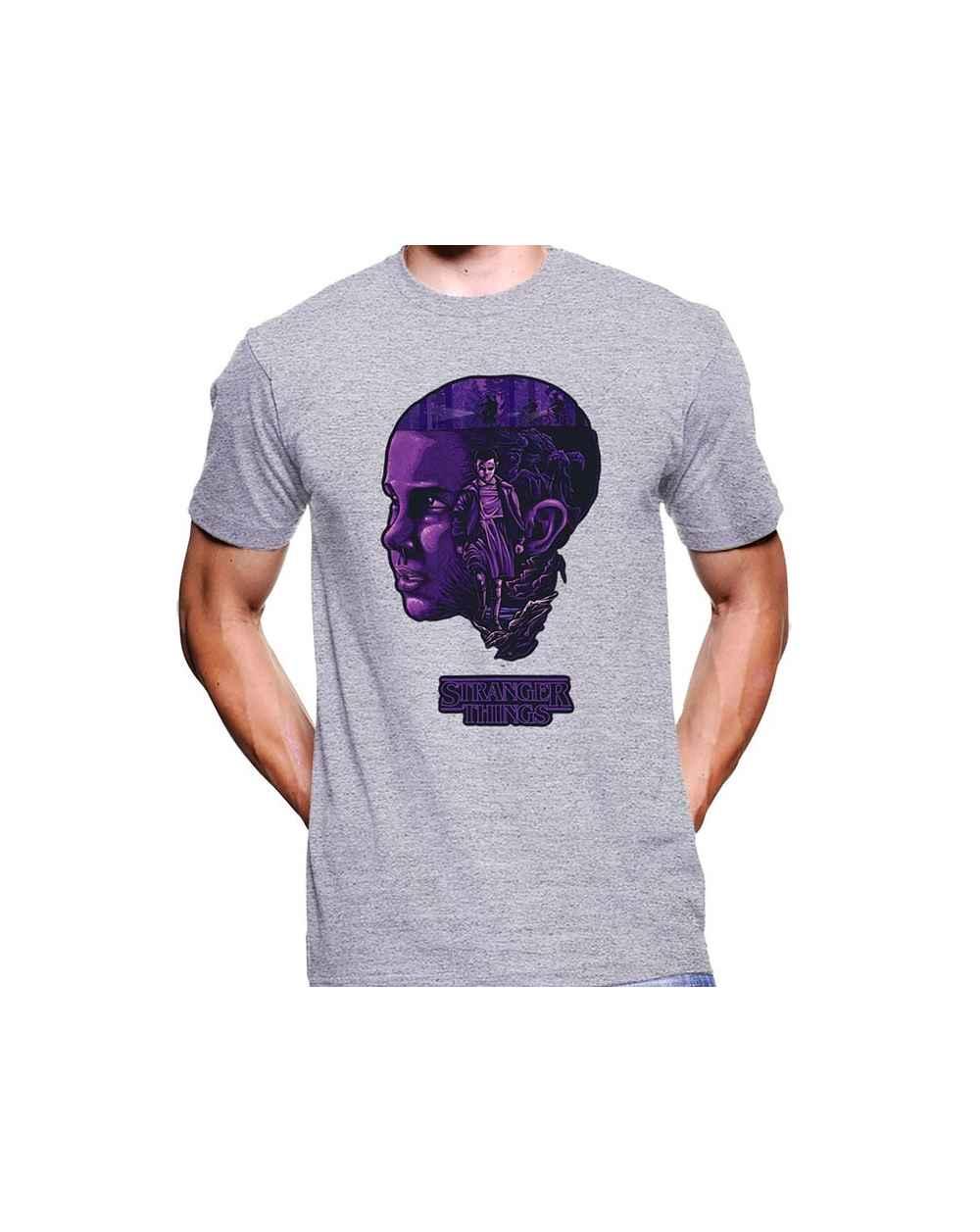 Camiseta Estampada Hombre Stranger Things 01
