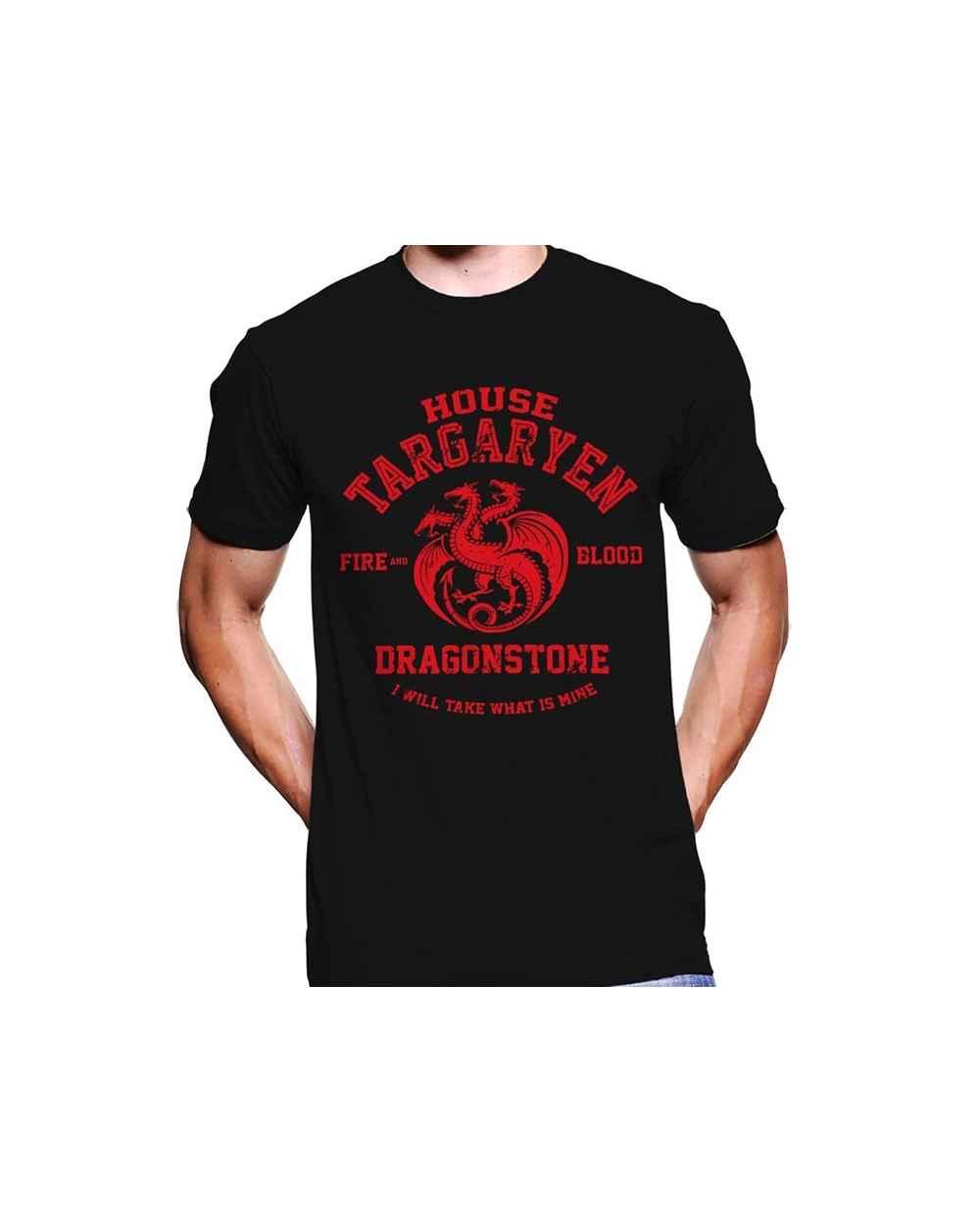 Camiseta Estampada Hombre Game Of Thrones House Of Targaryen 03