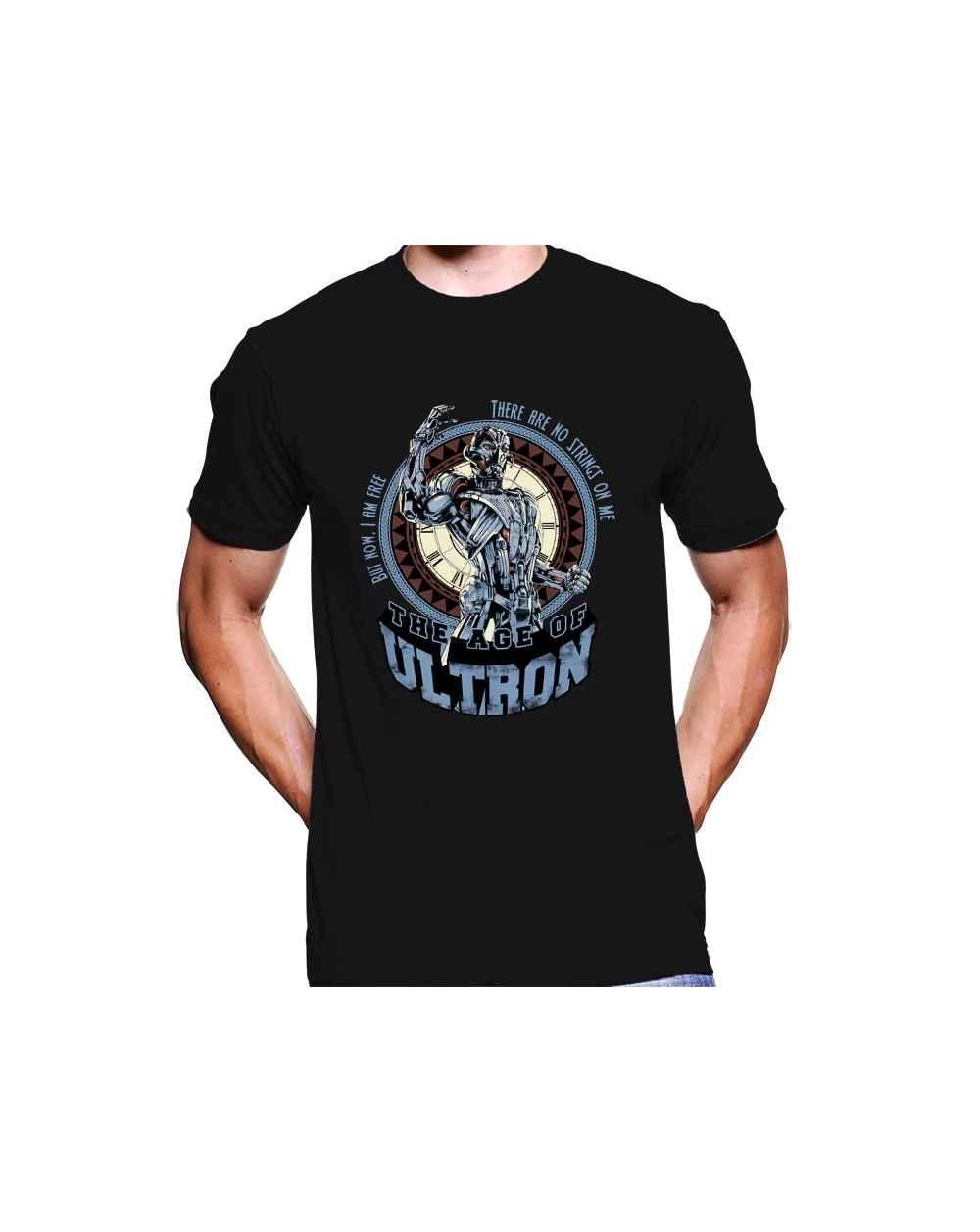 Camiseta Estampada Hombre Avengers 03