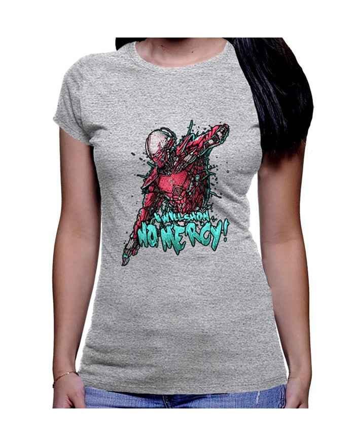 Camiseta Estampada Dama...