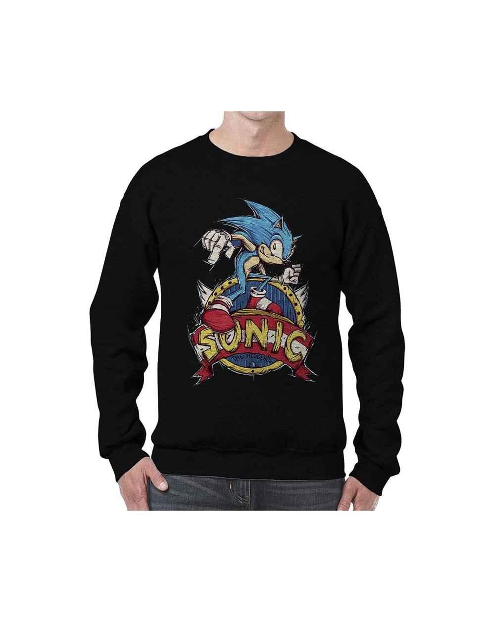 Camibuso Estampado Hombre Sonic