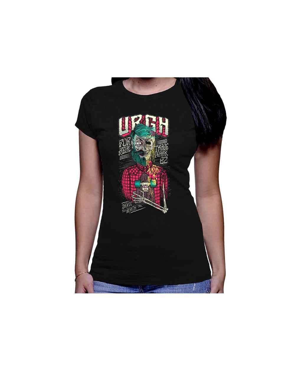 Camiseta estampada Dama Till Death Stake Zombie