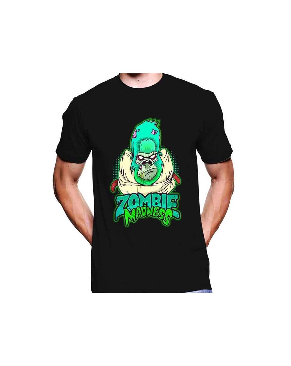 Camiseta estampada Hombre Zombie Madness