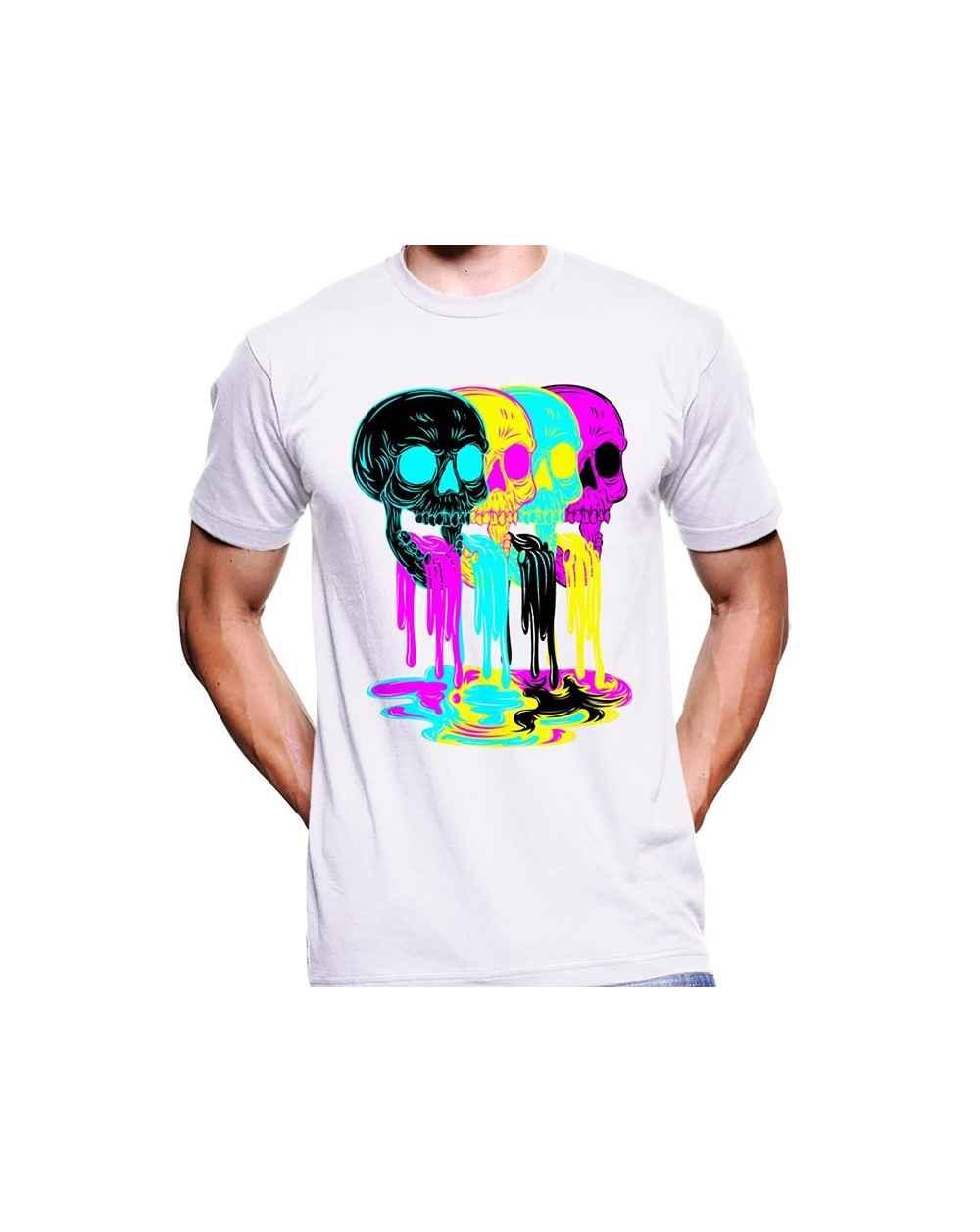 Camiseta estampada Hombre Color Skull
