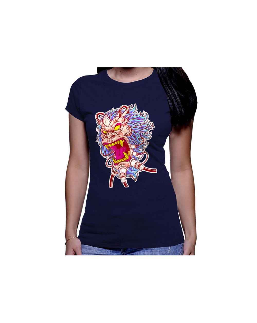 Camiseta Estampada Dama Simio 01