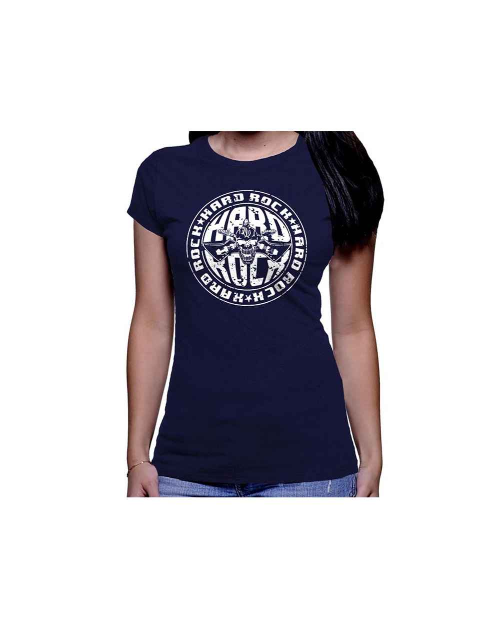 Camiseta Estampada Dama Hard Rock