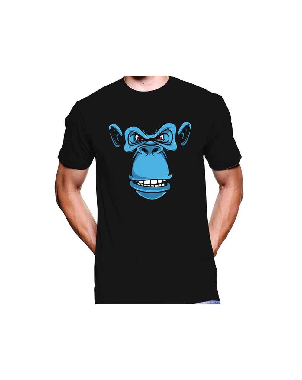 Camiseta Estampada Hombre Simio 03