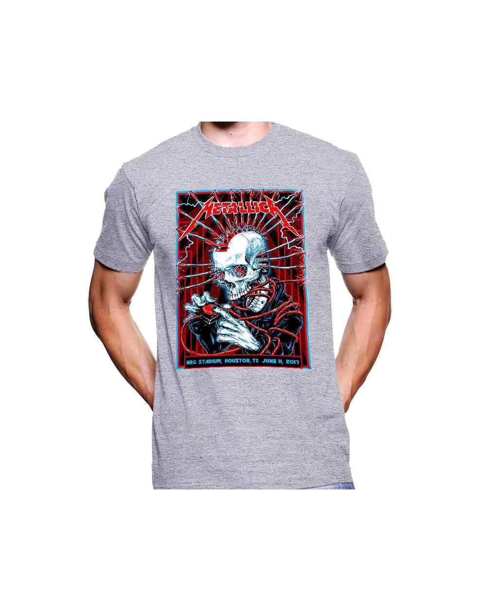 Camiseta Estampada Hombre Metallica 20