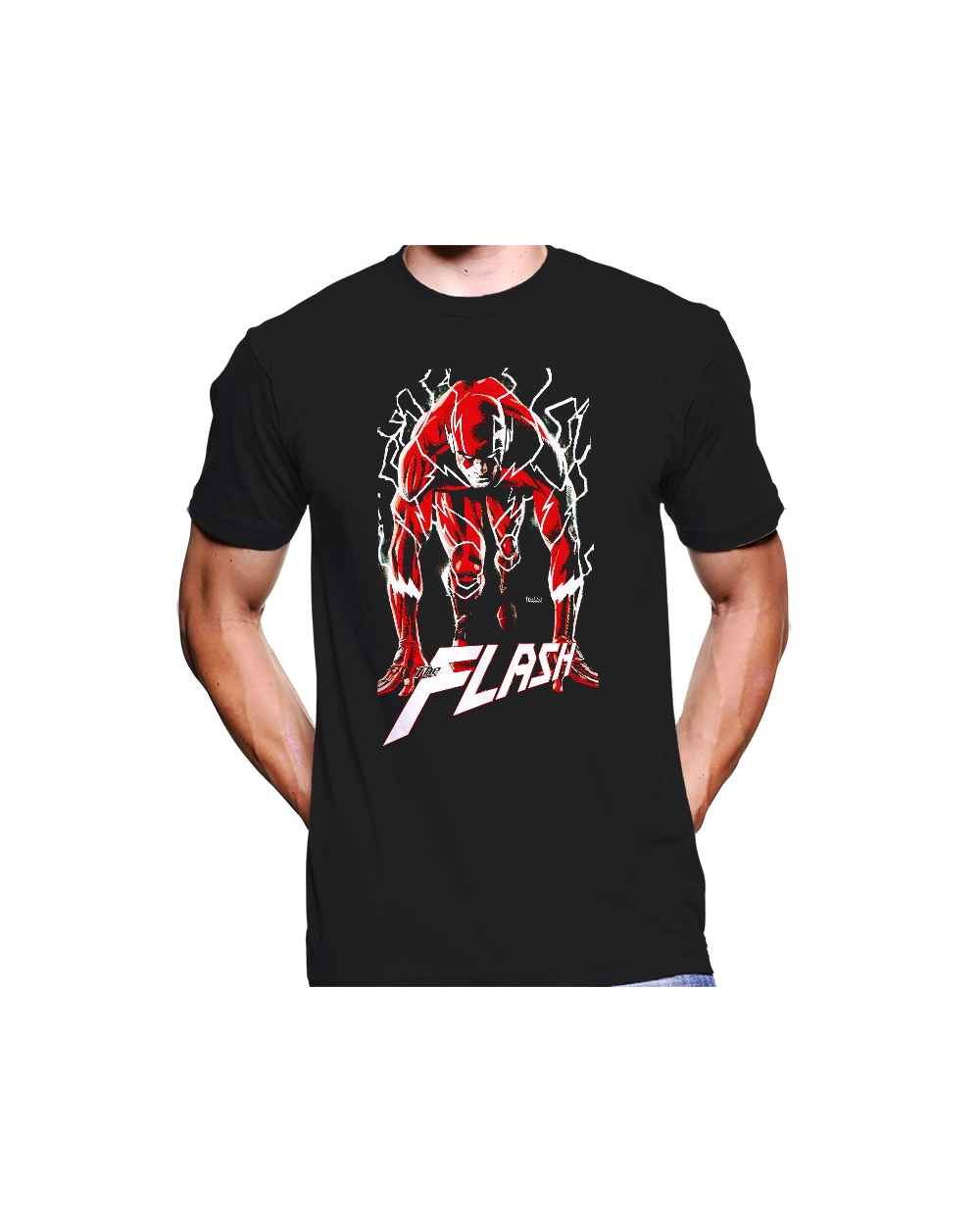 Camiseta Estampada Hombre The Flash
