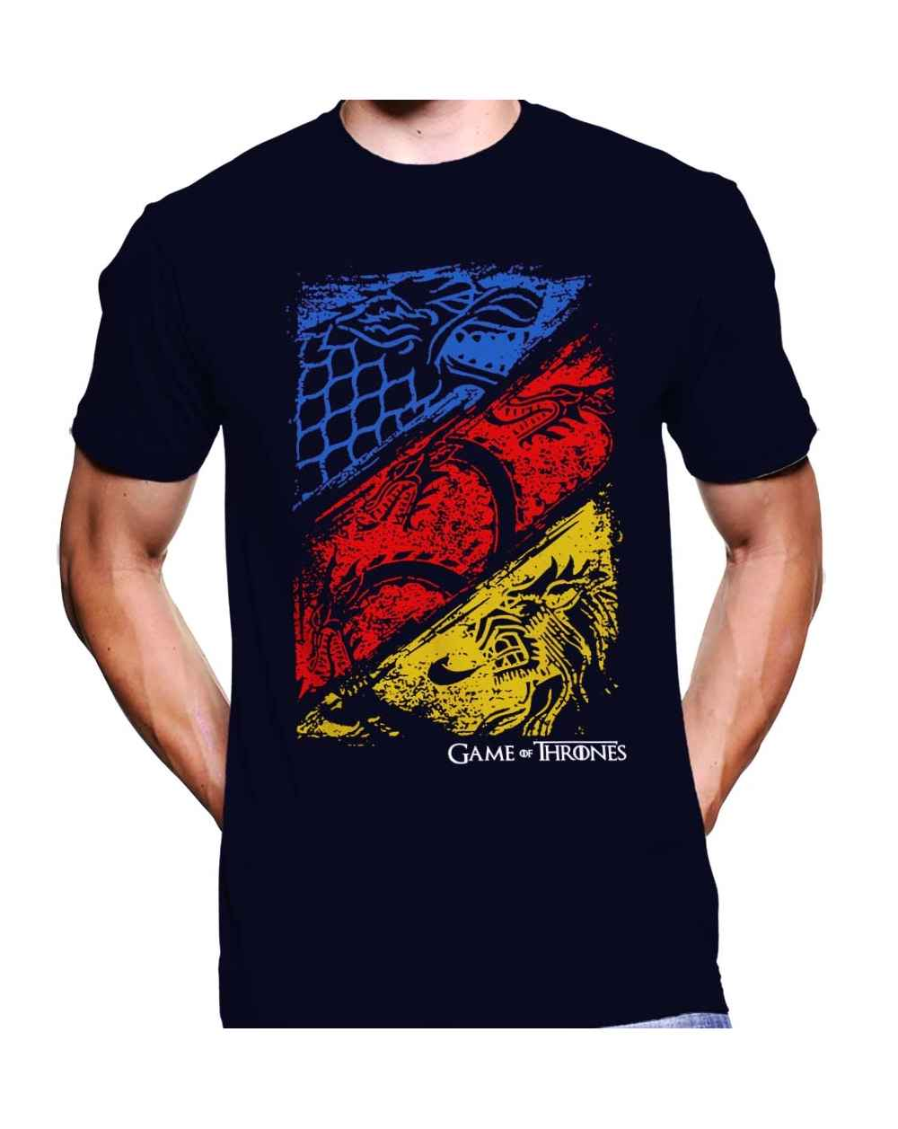 Camiseta Estampada Hombre Game Of Thrones 10