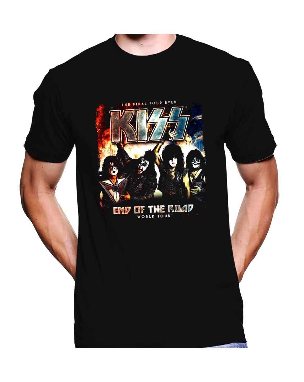 Camiseta Estampada Hombre Kiss
