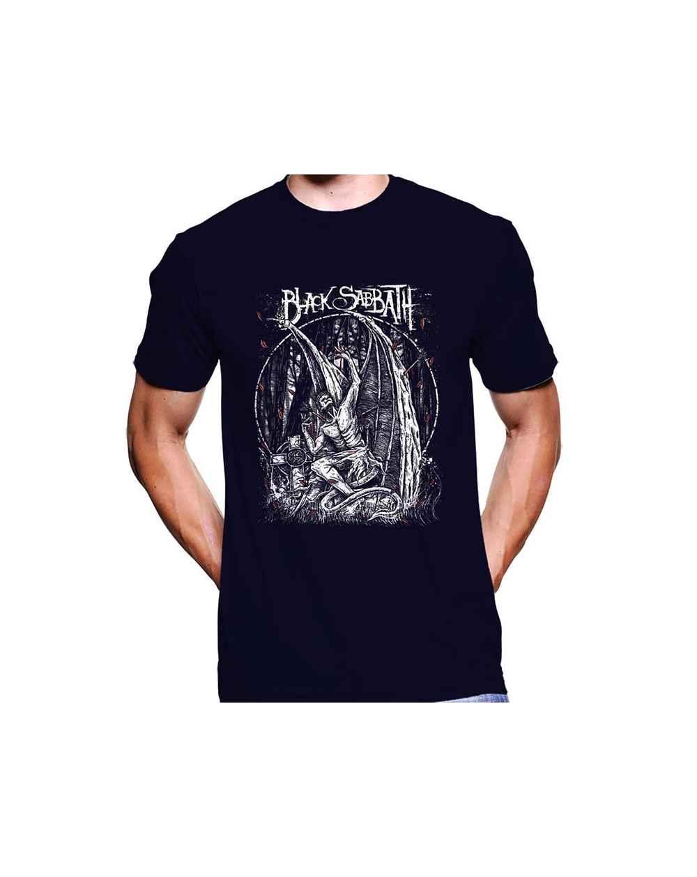 Camiseta Estampada Hombre Black Sabbath 04
